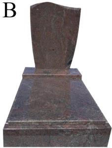 Paradiso B urnový hrob