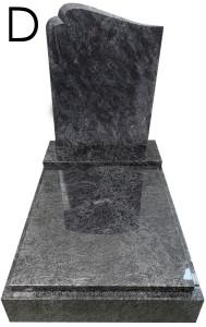 Urnový hrob Bahama Blue D