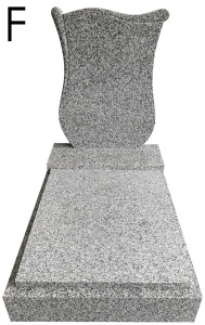 Urnový hrob Montain Pink F