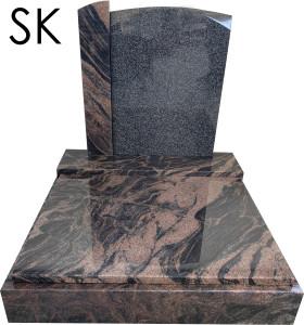 Urnový pomník Aurora a Regal black