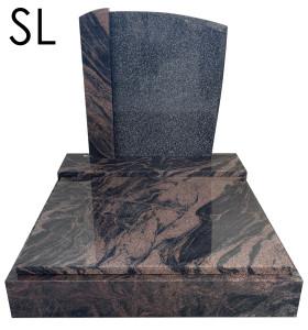 Urnový pomník Aurora a Regal black SL