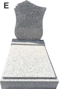 Urnový hrob žula