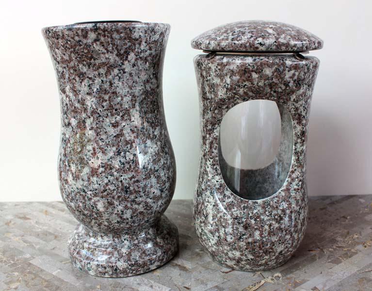 Rusty Brown Lampa a Váza