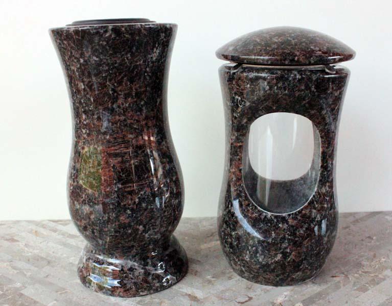 Tan browm Lampa a váza